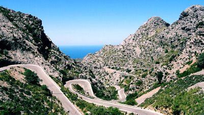 Curvas ruta Costa Brava