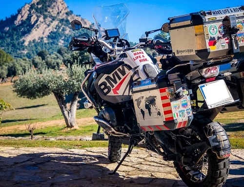 Tarragona en moto